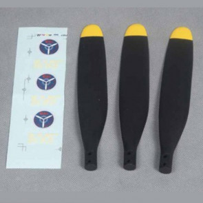 3 Bladed 14 x 8 Inch Propeller Blades for FMS 1400mm P40B Flying Tiger