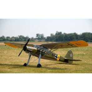 Fieseler Fi156C Storch RC Model Plane - Mantua AvioModelli Balsa Wood Kit