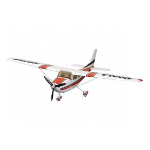 FMS Cessna 182 MK 2 1400 Series ARTF, Lights no Tx/Rx/Battery - Red