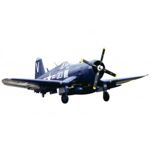 FMS F4U Corsair 1700 Series RTF Warbird with Retracts, Lights, Flaps -  no Tx/Rx/Bat