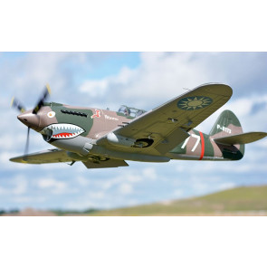FMS P-40B Flying Tiger Super Scale 1400mm ARTF Warbird, Retracts no Tx/Rx/Bat