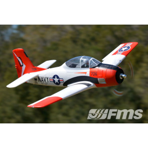 FMS T-28D Trojan New V4 Super Scale 1.4m ARTF Retracts, Flaps no Tx/Rx/Bat