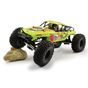 FTX Mauler 4x4 Rock Crawler 1:10 Scale Ready To Run - Yellow/Orange
