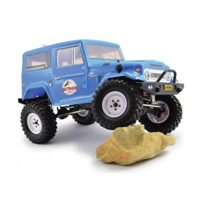 Outback 2 Tundra 4X4 Trail RTR 1:10 RC Truck Toyota Land Cruiser Style Body & Lights