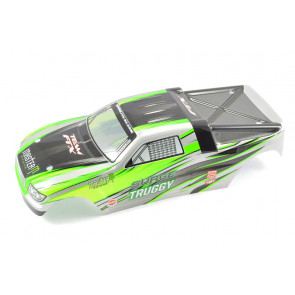 Green Body Shell and Decals for FTX Surge 1:12 Scale Truggy