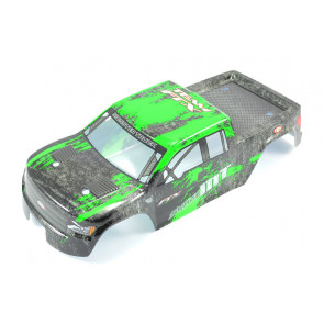 Green Body Shell and Decals for FTX Surge 1:12 Scale Monster Truck