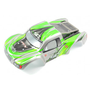 Green Body Shell and Decals for the FTX Surge 1:12 Scale Short Course Truck