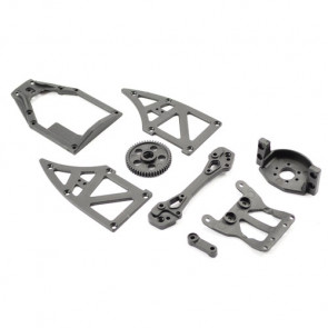 51T Gear. Top, Motor and Side Plates and Rear Tower for FTX Surge Cars - All Versions