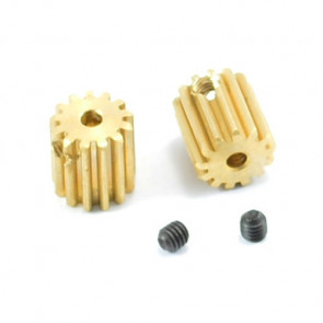 13T Brushed Motor Pinion Gears for FTX Surge Cars - All Versions
