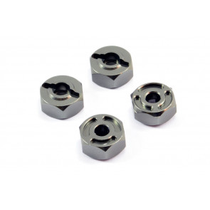 FTX Surge Aluminium Wheel Hex Set of 4
