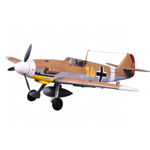 FMS 1400 Series Messerschmitt BF109-F ARTF Warbird Retracts no Tx/Rx/Bat