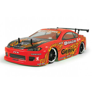 FTX Banzai 4WD RTR Brushed Electric Street Drift Car with 2.4Ghz Radio