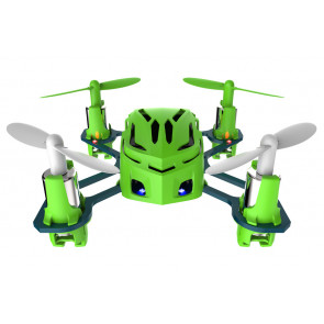 Hubsan Q4 Nano Quad Copter with LED Lights - Green Edition