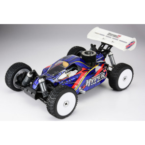 HoBao Hyper 7 TQ2 RTR Nitro Buggy Mac 28 Turbo 3 Port Engine, 2.4GHz Radio