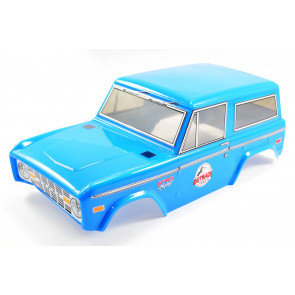 FTX Outback Treka Painted Ford Bronco Style Bodyshell 1:10 Scale - Blue