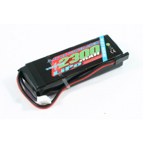 Voltz 2300mAH 2S 7.4V LiPo Rx Receiver Straight Battery Pack for RC Car Plane Boat