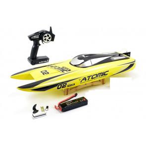 Volantex Racent Atomic 70cm Brushless RC Racing Speed Boat ARTR - Fast 60KPH!