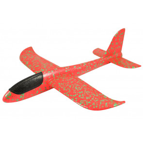 Mini Fox 480mm Free Flight EPP Hand Launch Foam Chuck Glider - Red