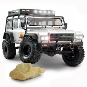 FTX Kanyon 4X4 Trail Crawler RTR 1:10 XL RC Truck with Head, Tail & Spotlights