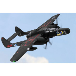 Dynam P-61 Black Widow Twin 1500mm Warbird with Retracts no Tx/Rx/Bat