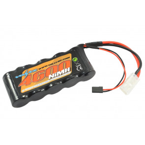 Voltz 4600mAh 6V  NiMH Rx Receiver Sub-C 1/5 RC Car Battery w/JR & Tamiya Plug