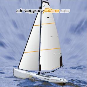 JOYSWAY DRAGON FLITE 95 RACING SAILING YACHT BOAT ARTR w/o Tx/Rx