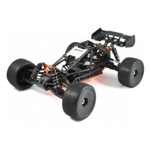 HOBAO HYPER CAGE TRUGGY ELECTRIC ROLLER CHASSIS RC - BLACK