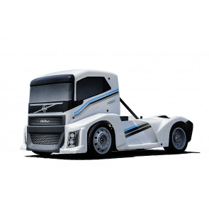 HOBAO EPX RC ELECTRIC TRUCK ROLLING CHASSIS  - WHITE