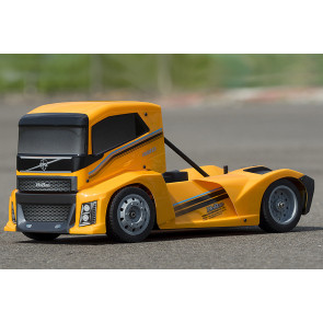 HOBAO EPX RC ELECTRIC TRUCK ROLLING CHASSIS  - YELLOW