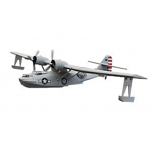 Dynam PBY Catalina Twin 1470mm WW2 RC Model Plane ARTF (no Tx/Rx/Batt) - Grey