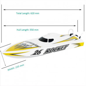 Joysway Rocket V3 RTR Brushless RC Model Racing Boat