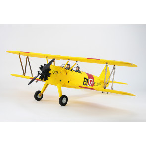 Dynam Boeing PT-17 Stearman 1300MM ARTF (no Tx/Rx/Batt) - Yellow