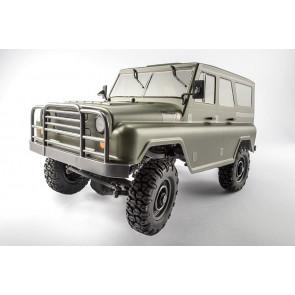 TT RC Sport 1:12 PUBG 4x4 UAZ Military Jeep Army Truck RTR