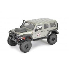 FTX Outback Mini X Fury RTR RC Rock Crawler Jeep Truck - Grey