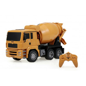 HUINA 1:18 RC Concrete Cement Mixer Truck – Full 6 Channel Function!