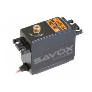 SAVOX SC0253MG STANDARD SIZE DIGITAL SERVO METAL GEAR 6KG/0.15s@6V