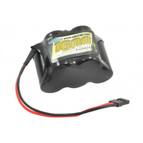 Voltz 1600mAh 6V Rx Receiver Hump Battery Pack w/JR Plug for RC Plane Car