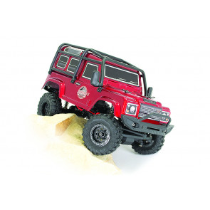 FTX Outback Ranger Mini 3.0 1/24 RTR RC Rock Crawler Truck - Dark Red