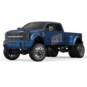 CEN 1:10 DL-Series FORD F-450 Super Duty ARTR (no Batt) RC Truck - Blue