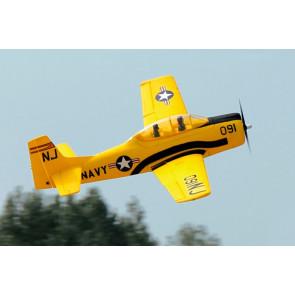 Dynam T-28 Trojan (1270mm) RC Electric Plane ARTF (no Tx/Rx/Batt) - Yellow
