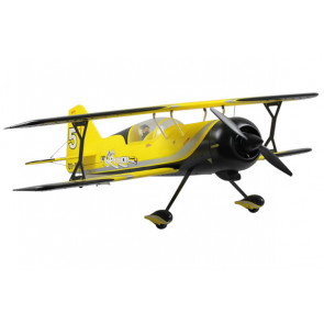 Dynam Pitts Model 12 ARTF Electric Bi-Plane Yellow no Tx/Rx/Bat/Chg