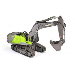 Huina 1/14th RC Excavator Digger Diecast Metal Construction Vehicle