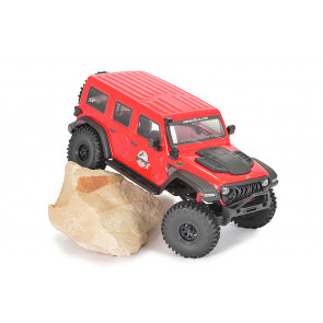 FTX Outback Mini X Fury RTR RC Rock Crawler Jeep Truck - Red