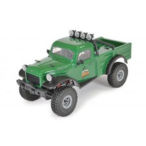 FTX 1:18 Outback Mini X Texan RTR RC Rock Crawler Jeep Truck - Green