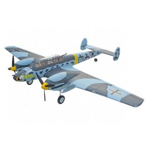 Dynam Messerschmitt BF110 V3 1500mm Warbird with Retracts no Tx/Rx/Bat