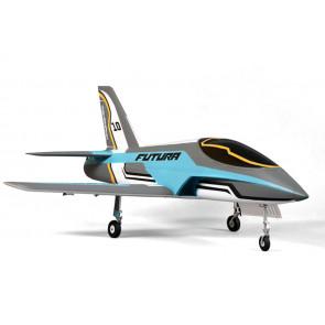 FMS 1060MM Futura V2 ARTF 80MM RC EDF Jet (no Tx/Rx/Batt) - Blue