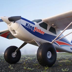 FMS Kingfisher 1400MM ARTF (no Tx/Rx/Batt) Multirole RC Trainer Bush Plane