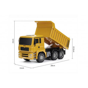 HUINA 1:18 RC Dump Truck - Full 6 Channel Function!