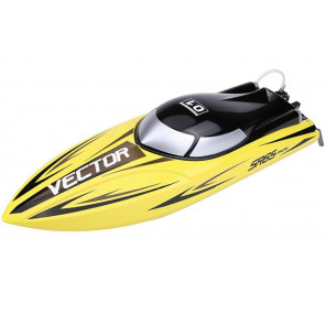 VOLANTEX RACENT VECTOR SR65CM BRUSHLESS RC RACING BOAT RTR YELLOW
