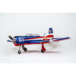 FMS Nanchang CJ-6 V2 (1200mm) ARTF (no Tx/Rx/Batt) V2 w/Reflex Gyro RC Model Plane